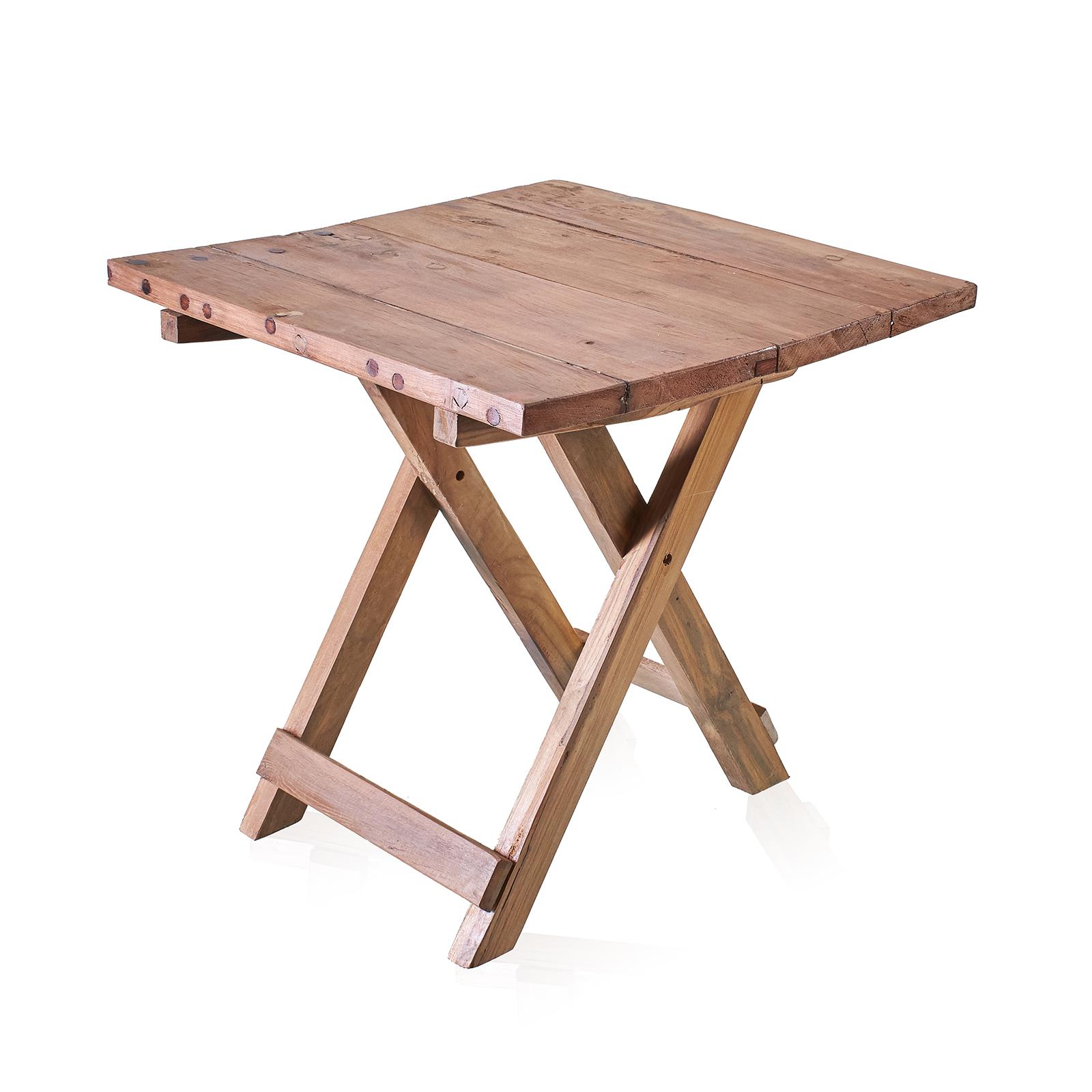 Čtvercový skládací stolek - 50x50cm