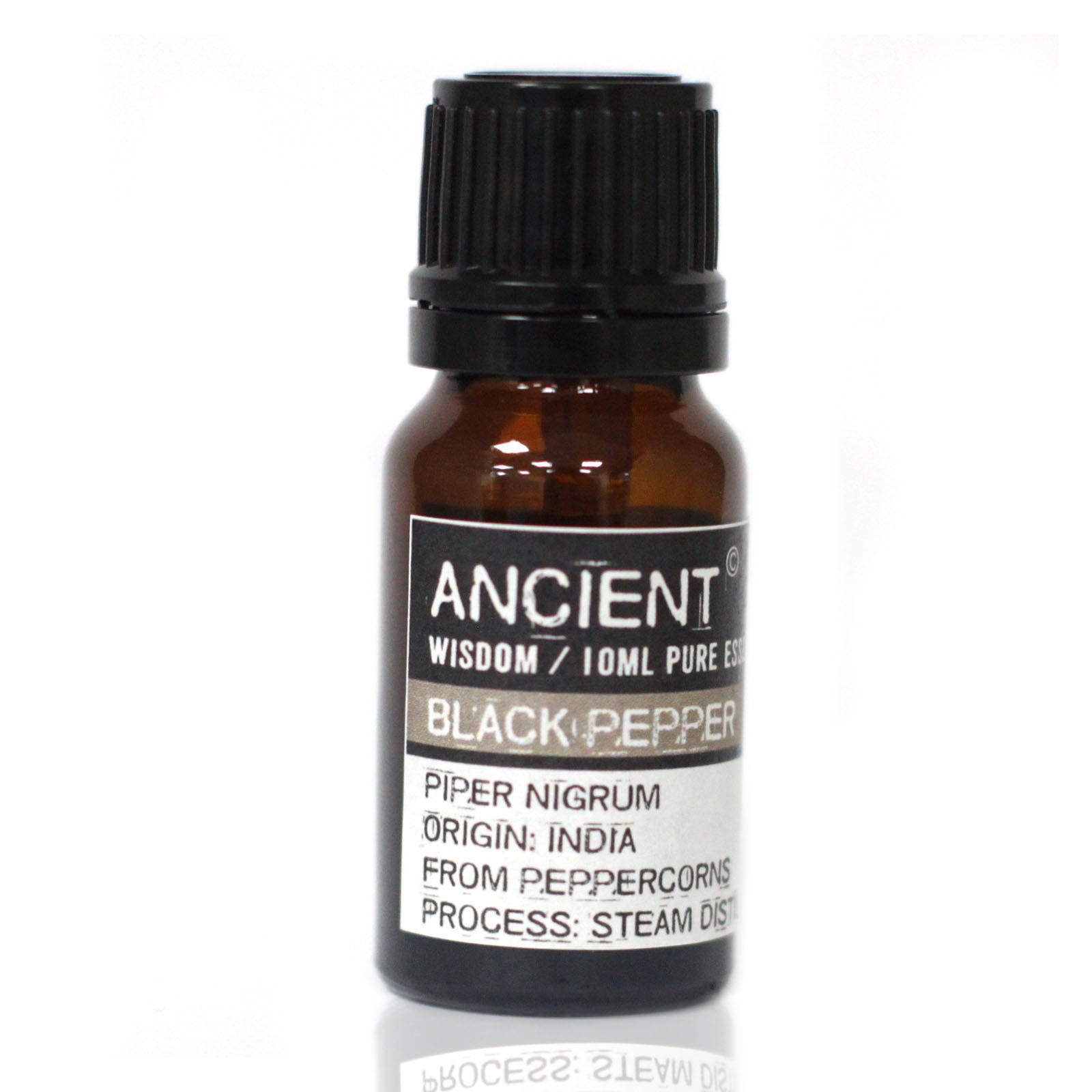 10 ml Černé Koření Esenciální Olej