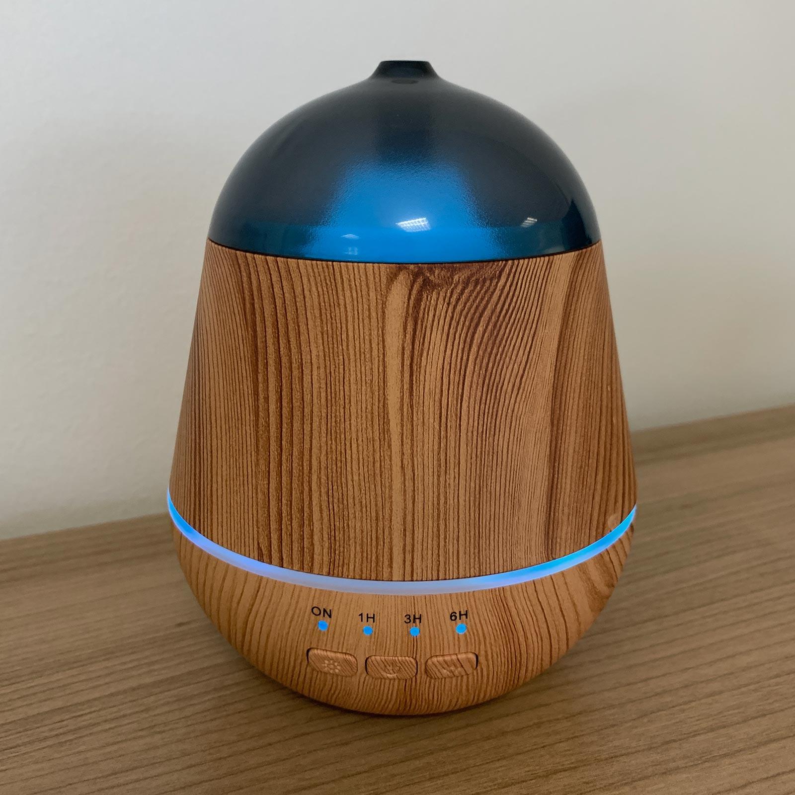 Aroma Difuzér Marseille - USB - Měnící se Barvy - Časovač
