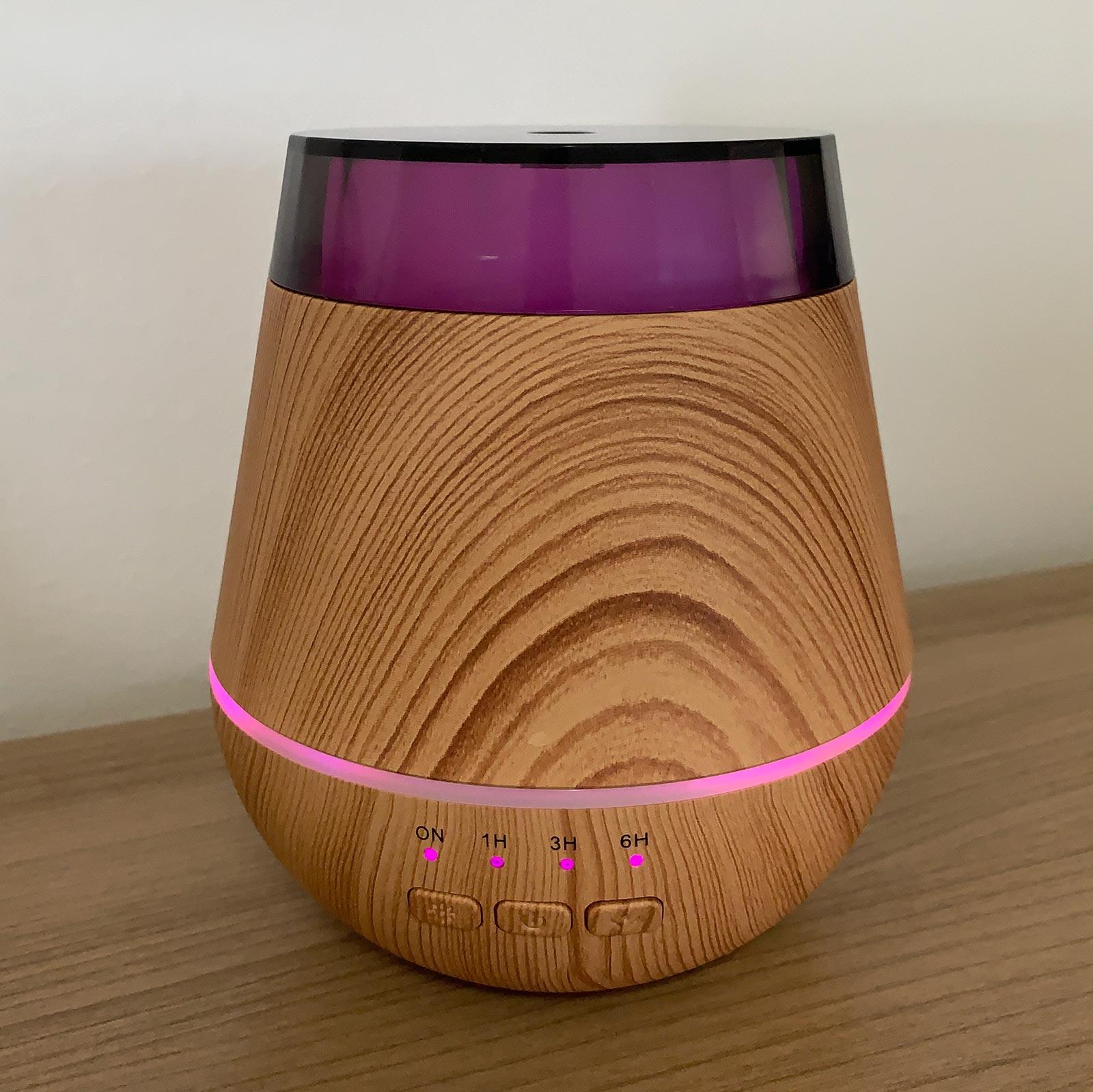 Aroma Difuzér Helsinki - USB - Měnící se Barvy - Časovač