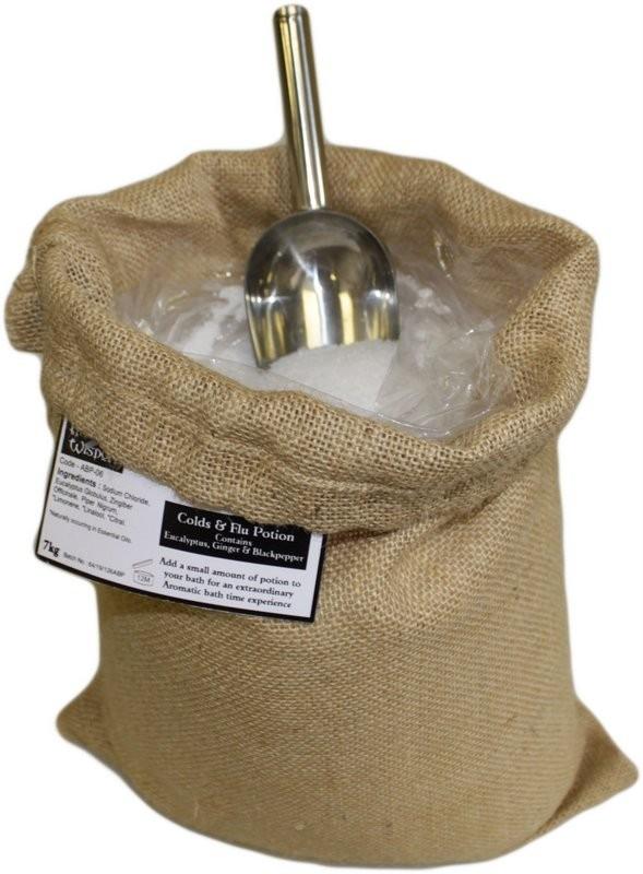 Aromaterapeutické Soli do Koupele 7 kg - Nachlazení a Chřipka
