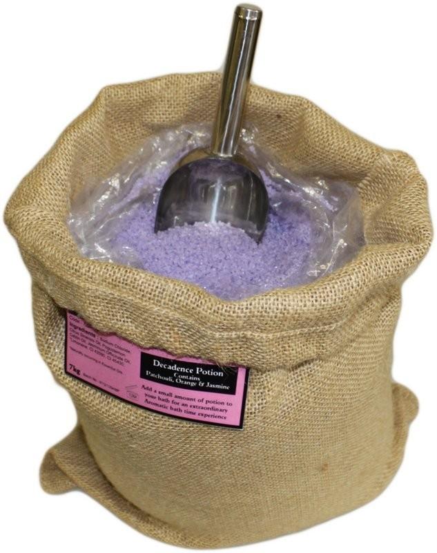 Aromaterapeutické Soli do Koupele 7 kg - Dekadentní