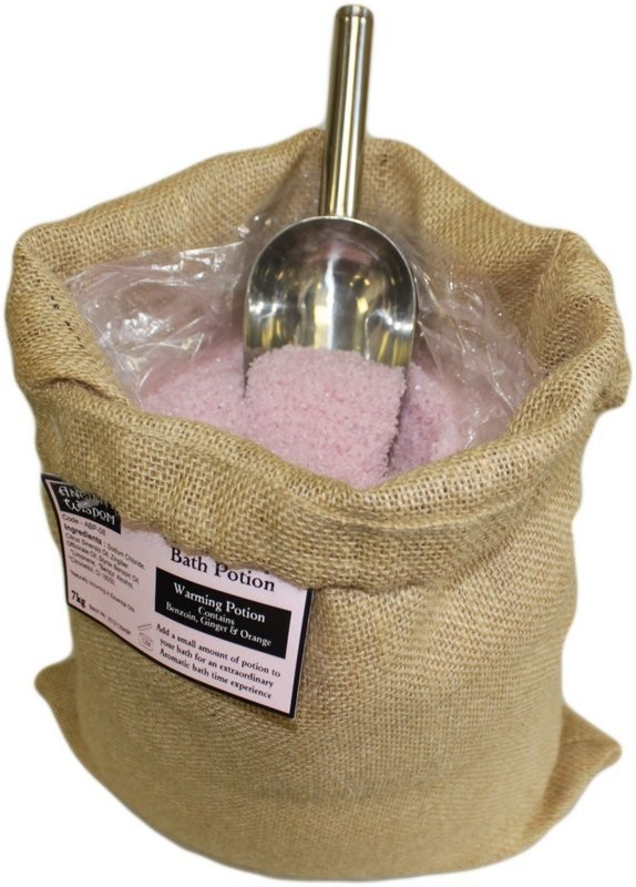 Aromaterapeutické Soli do Koupele 7 kg - Hřejivá