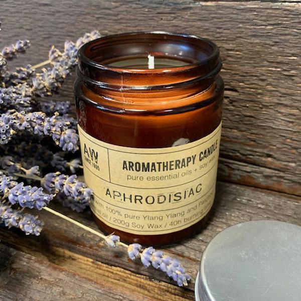 Aromaterapeutická Sójová Svíčka 200g - Afrodiziakum
