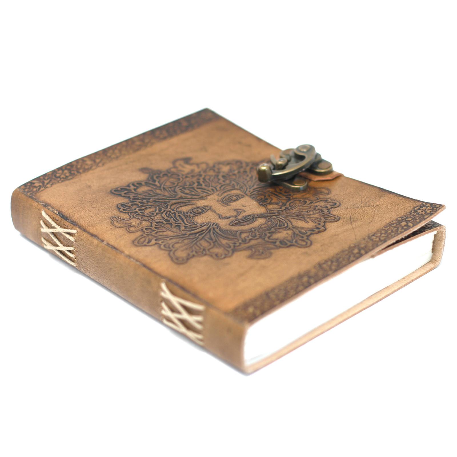 Kožený Zápisník (20x15 cm) - Greenman