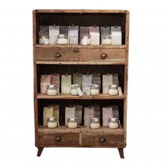 Skříňka z recyklovaného dřeva - 100x40x160cm