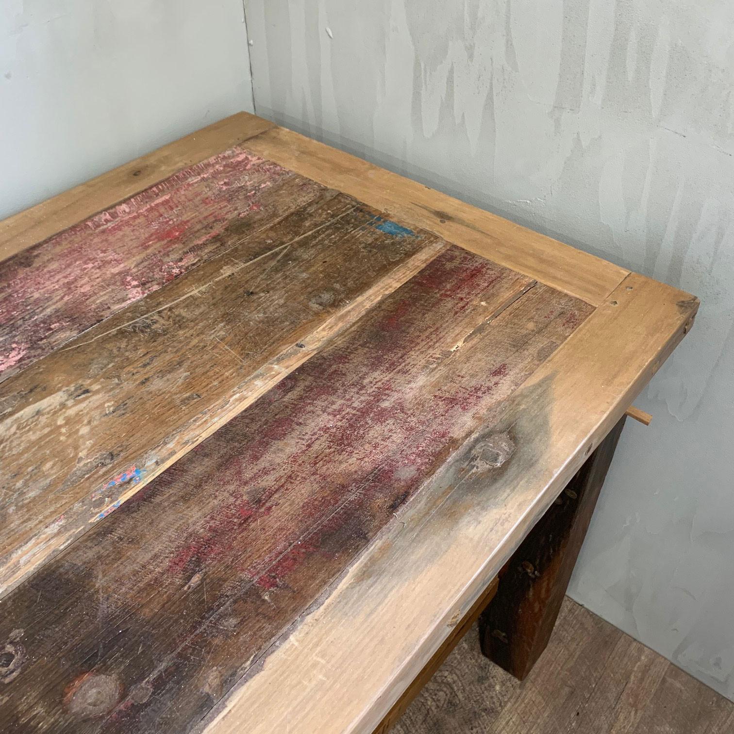 Jídelní stůl z recyklovaného dřeva 1.8m