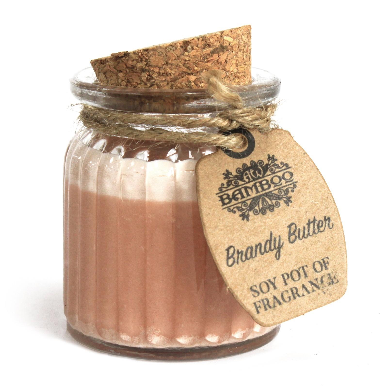 Sójová Vonná Svíčka - Brandy Butter